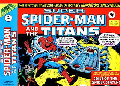 Super Spider-Man and the Titans #200, Spider-Slayer