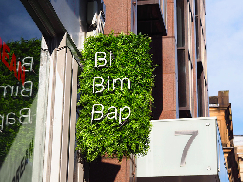 Bibimbap Glasgow Review Menu | Colours and Carousels - Scottish Lifestyle, Beauty and Fashion blog