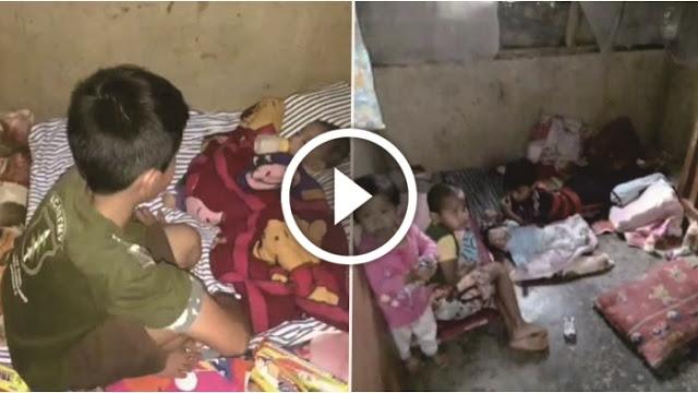 Ayahnya Meninggal, Keempat Anak Yatim ini Tak Diurusi Ibunya
