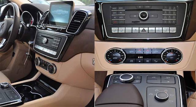 Tựa tay Mercedes GLS 500 4MATIC 2017 được thiết kế nổi bật với rất nhiều tiện ích