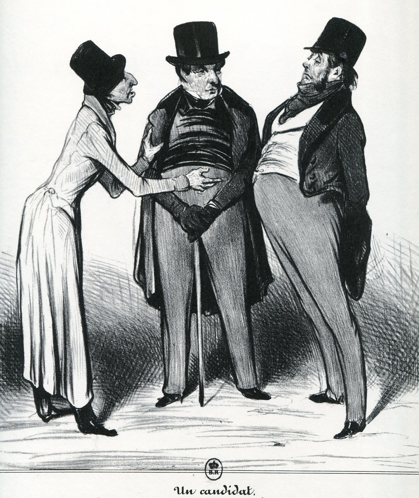 Mixographics: Honoré Daumier: Master of Subtlety