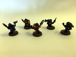 2nd Edition Orks - Madboyz group - Back