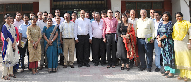 All the Heads and faculty members took part in the two-day workshop