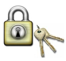 membuat password untuk keamanan data akun