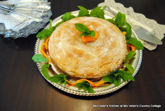 Orange Cornmeal Cake at Miz Helen's Country Cottage
