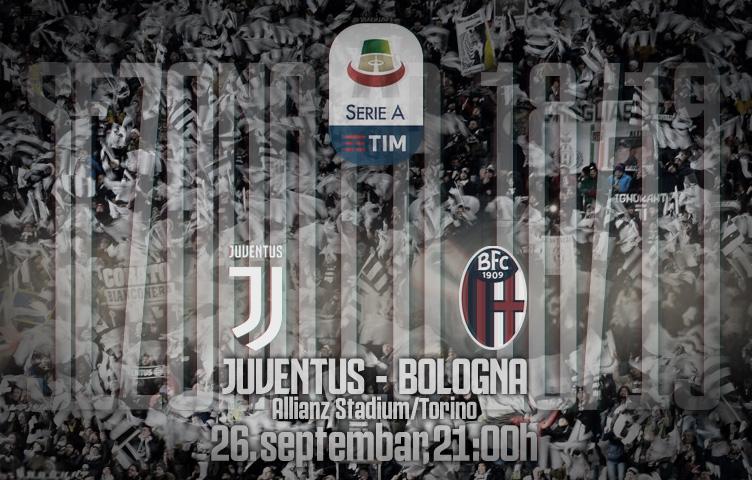 Serie A 2018/19 / 6. kolo / Juventus - Bologna, srijeda, 21:00h