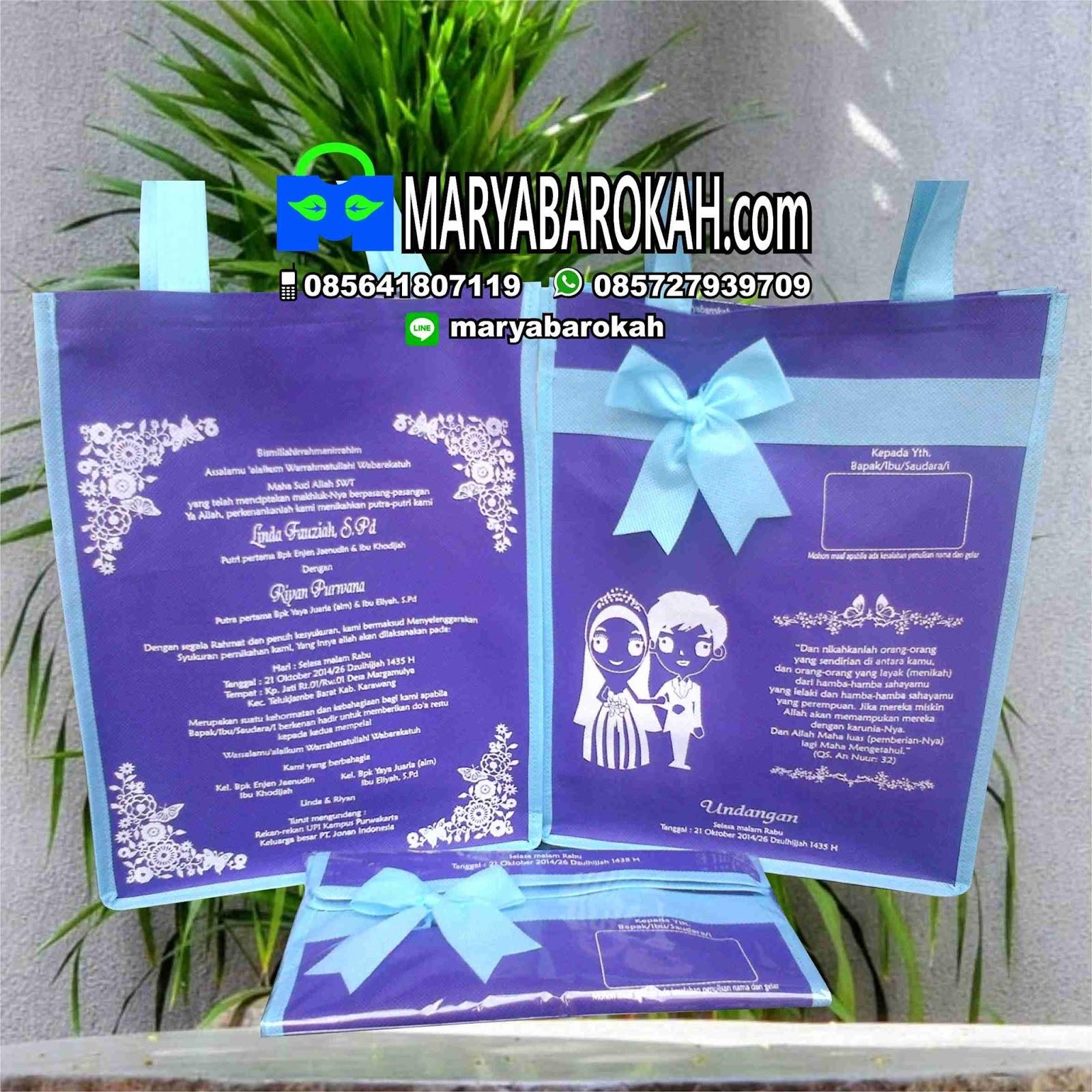 Undangan Pernikahan Unik Dan Bermanfaat Produsen Undangan Tas