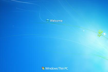 Instal Windows Thin Pc - Alternatif Windows 7