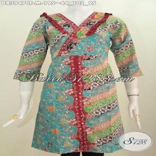 blus batik modern murah