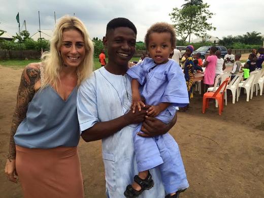 Photos: Danish aid worker Anja Ringgren Loven and husband celebrates son's second birthday