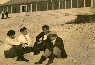 George Sterling, MaryAustin, Jack London, and Jimmie Hooper, Carmel