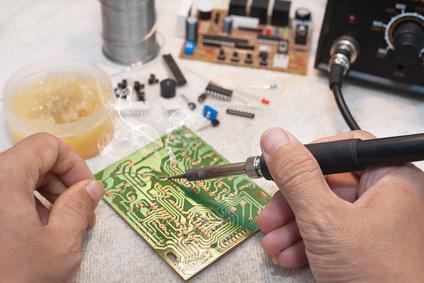 Elektronikversuche
