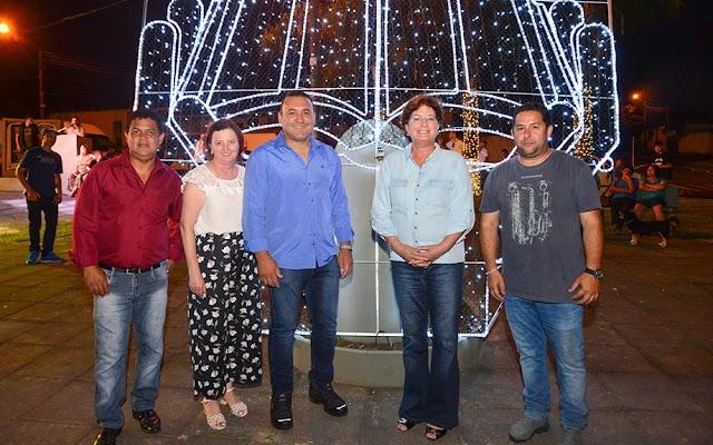 Prefeitura de Colombo investe na decoração e iluminação de natal