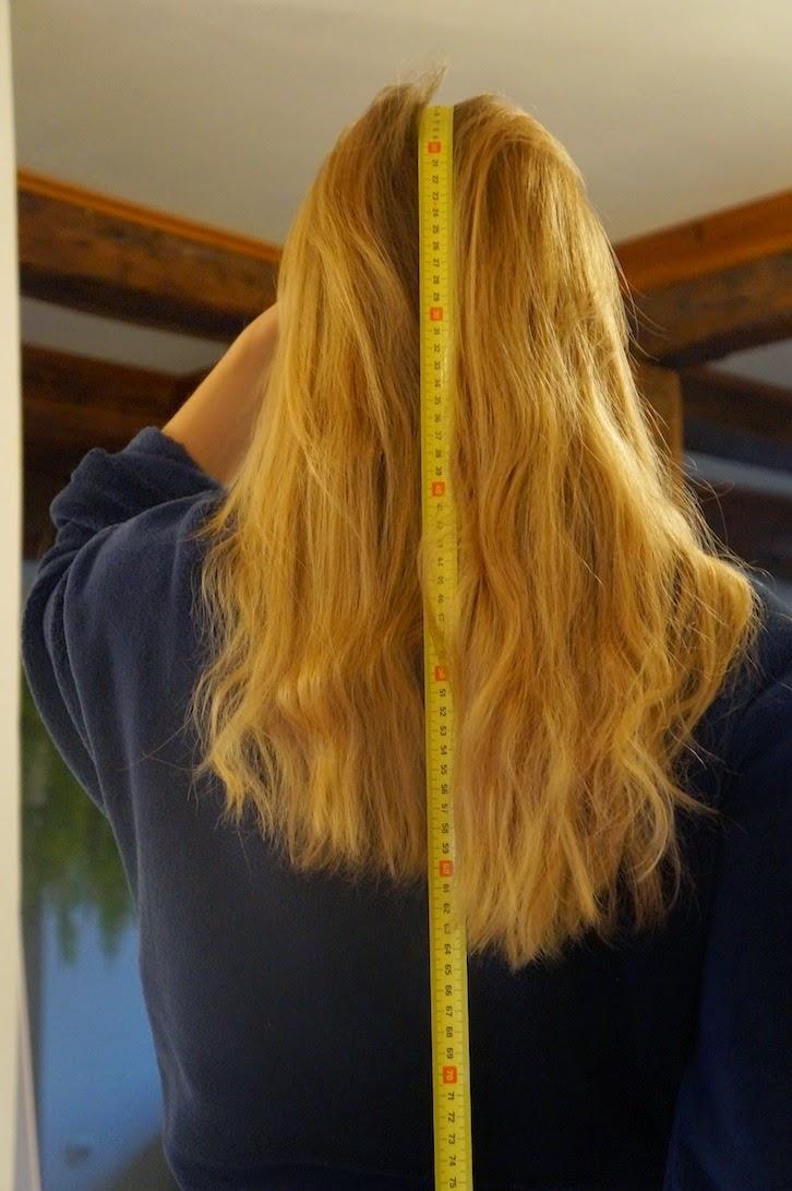 ma pousse de cheveux en 1 ans
