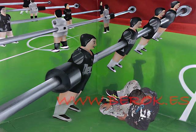 graffiti 3d futbolín