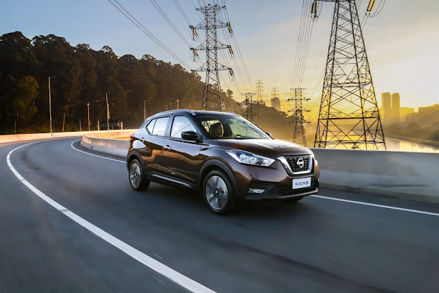 Nissan Kicks S 2018 Automático CVT