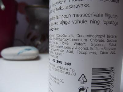 Natura Siberica Loves Estonia šampón zloženie