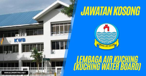 jawatan kosong Lembaga Air Kuching (Kuching Water Board) 2019