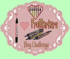 I Love ProMarkers Blog Challenge