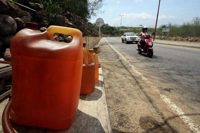 En Táchira comercializan la pimpina de gasolina entre Bs 20.000 y Bs 75.000