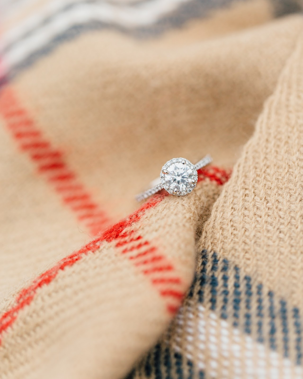 Holiday Engagement Photography by Something Minted