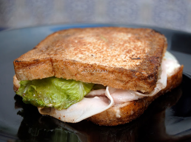 Sándwich Cesar de Pavo