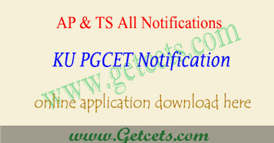 KU PGCET 2019 notification, kucet application form 2019,kupgcet notification 2019