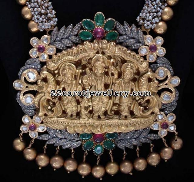 Ram Parivar Nakshi Pendant