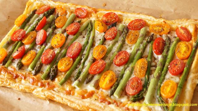 szparagi z serem