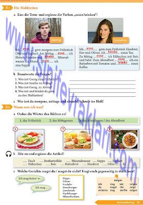 9. Sınıf Almanca A1.1 Ders Kitabı Cevapları Sayfa 55