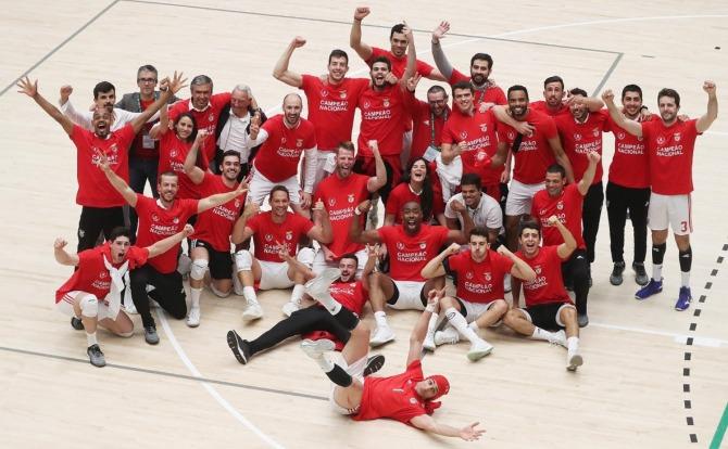 Blog Benfica Campeão Nacional de Voleibol 2018/19