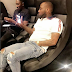 See what Davido was caught doing
