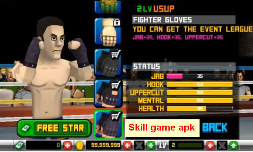Punch Hero Apk MOD v1.3.8 Unlimited Money - skill game apk