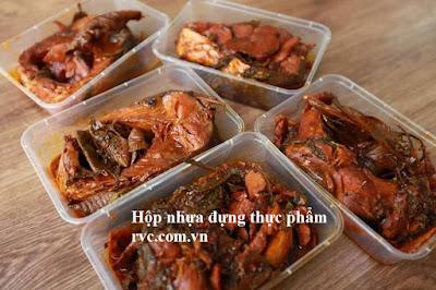 Hop nhua thuc pham chuyen dung dung do an nong