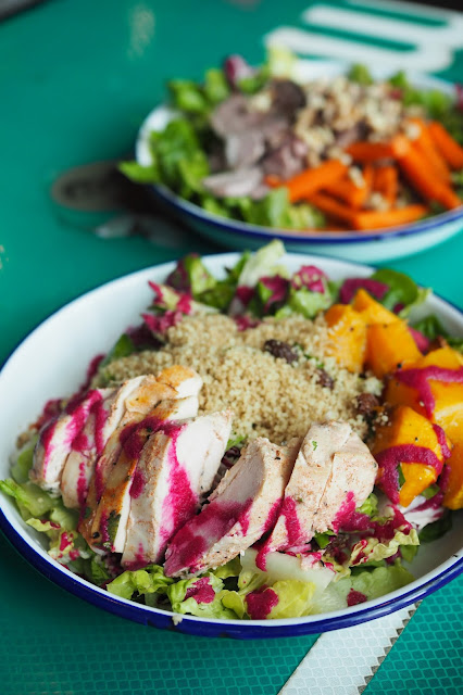 best healthy salad in singapore review