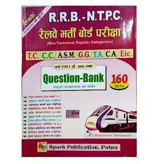 SPARK RAILWAY NTPC 160 SET