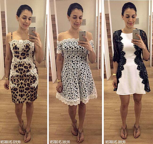 5e8d659ec Os vestidos estão maravilhosos. Especialmente esse branco e preto do meio
