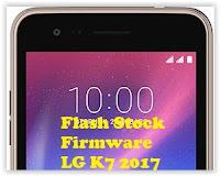 flash stock LG K7 2017