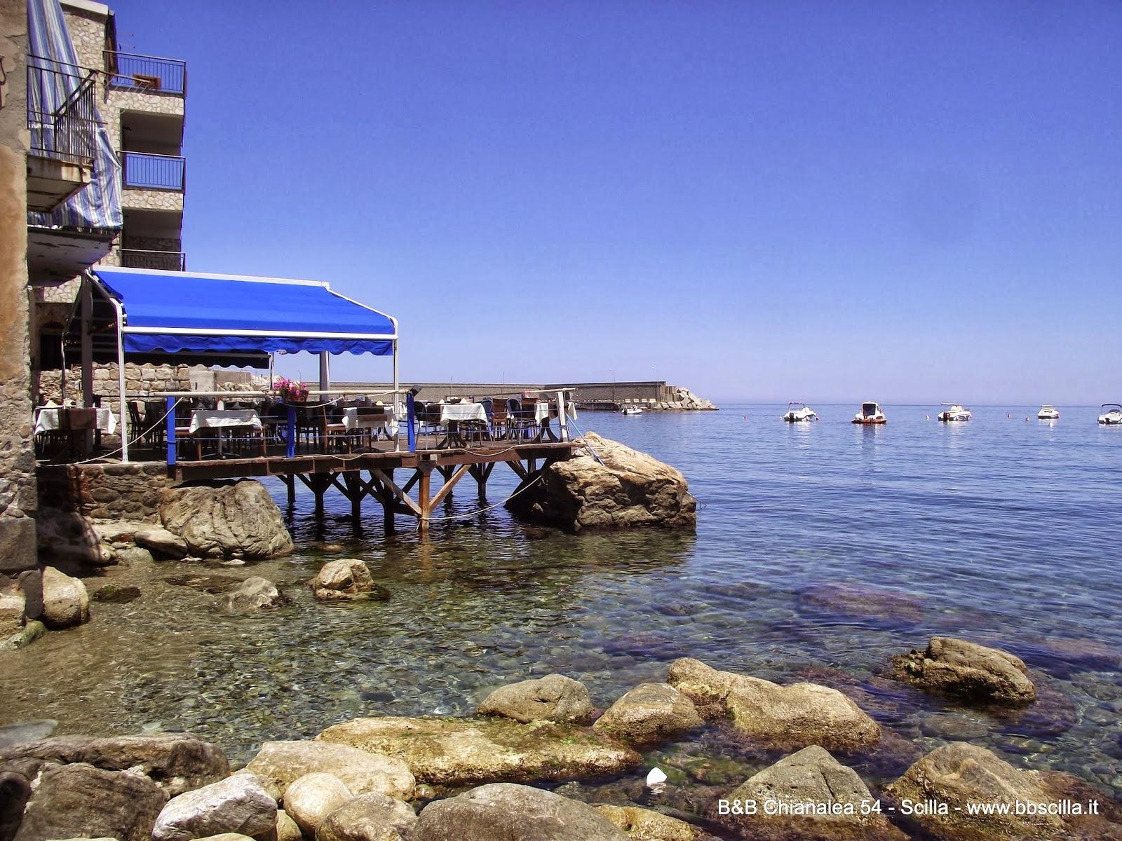 Restaurants Chianalea sea