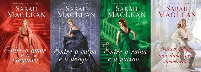Wishlist Literaria - Romances de Época - Série O Clube dos Canalhas Sarah MacLean (Editora Gutenberg)