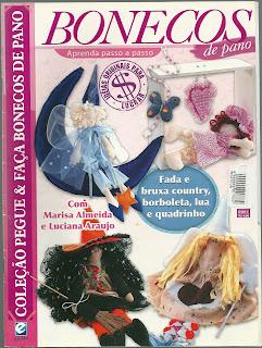 Bonecas de pano Nro. 0004 – Marisa Almeida – Luciana Araujo