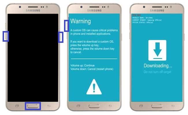 Cara Flash Samsung Galaxy S7 via Odin