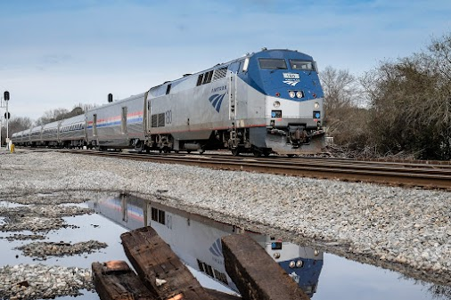 Fujifilm's In-Camera Raw To JPEG Conversions; Is It Something That You Might Find Useful? Amtrak Train...