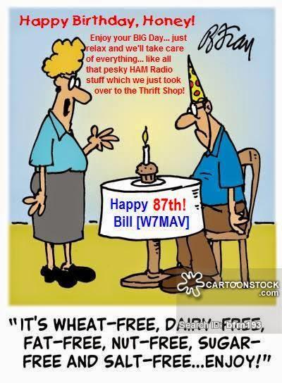 PSRG-FUN Blog: HAPPY 87th BIRTHDAY -- Bill [W7MAV] (April
