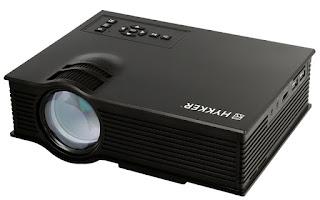 Projektor multimedialny HYKKER LED Vision 130 z Biedronki