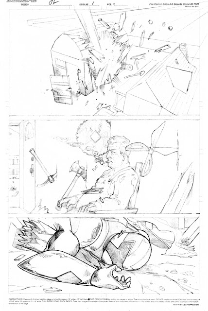 Comic Book sequential page 3