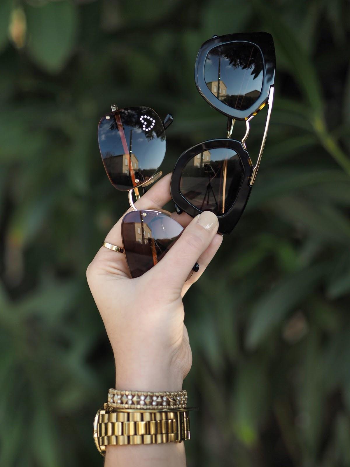 Mes lunettes de soleil du moment