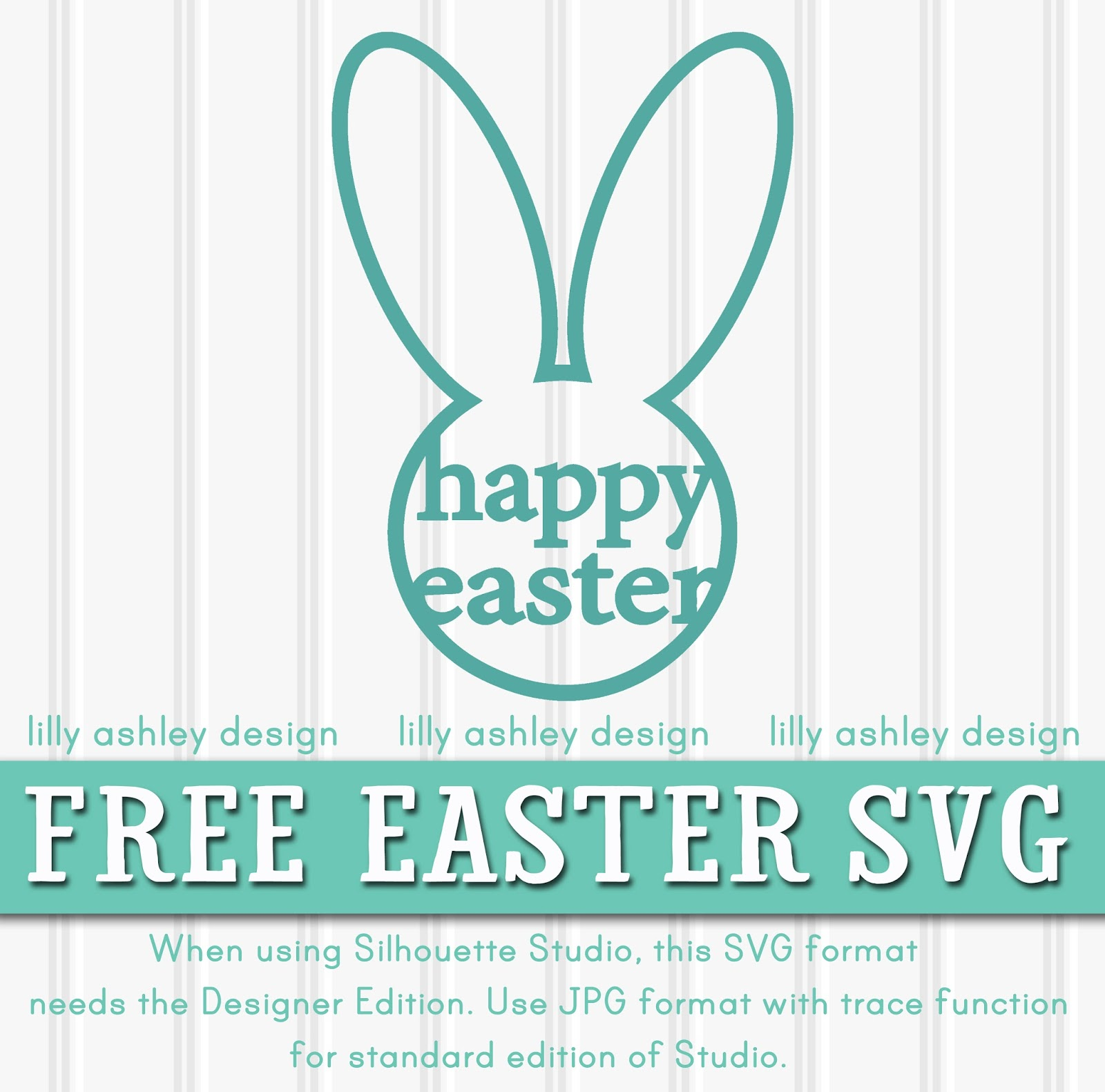 Free Easter Silhouette Designs