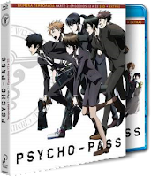 PSYCHO PASS. Temporada 1 parte 1 y 2. Blu-ray Disc