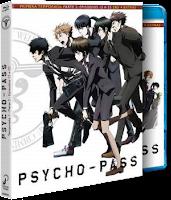 PSYCHO PASS. Temporada 1 parte 1 y 2. Blu-ray Disc